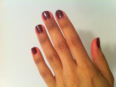Red Creme Nail Polish Swatches