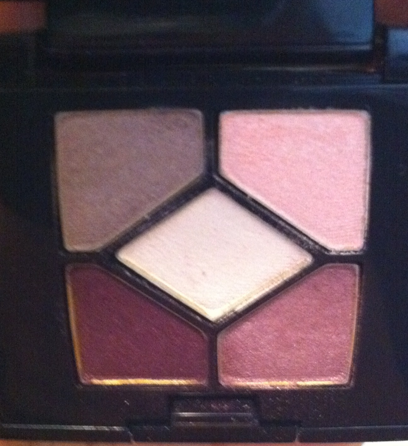 Review Dior 5 Couleurs Palette In Stylish Move The Makeup Train