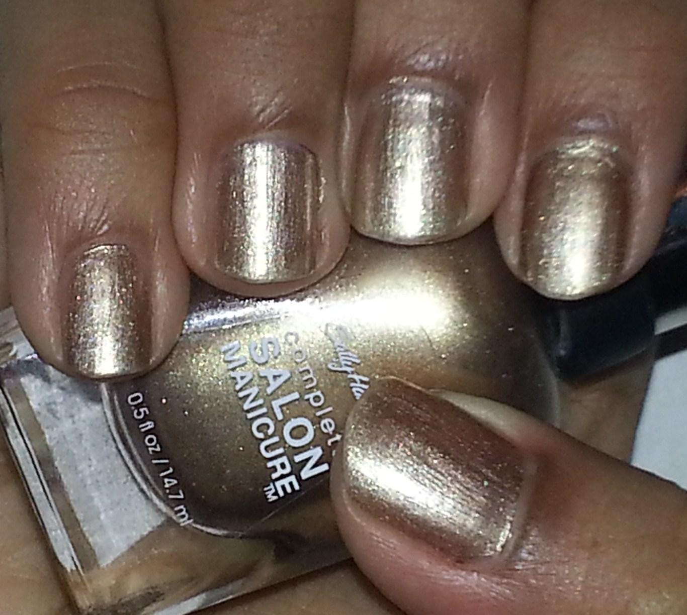 Sally hansen complete salon manicure in gilty pleasure for A shear pleasure pet salon