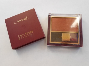 Review: Lakme Pure Rouge Blusher in Ginger Surprise