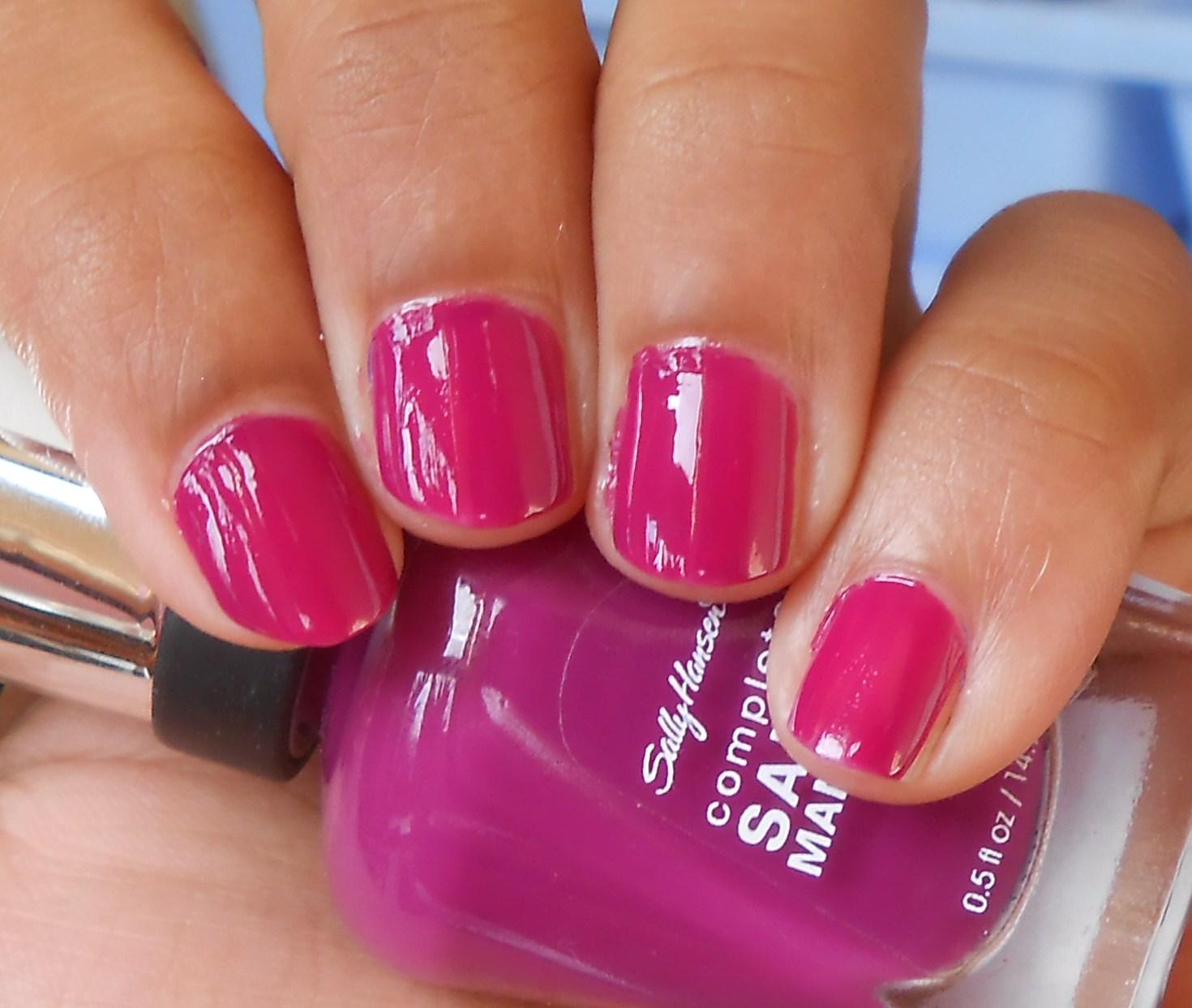 Sally hansen complete salon manicure nail polish swatches for Salon manicure