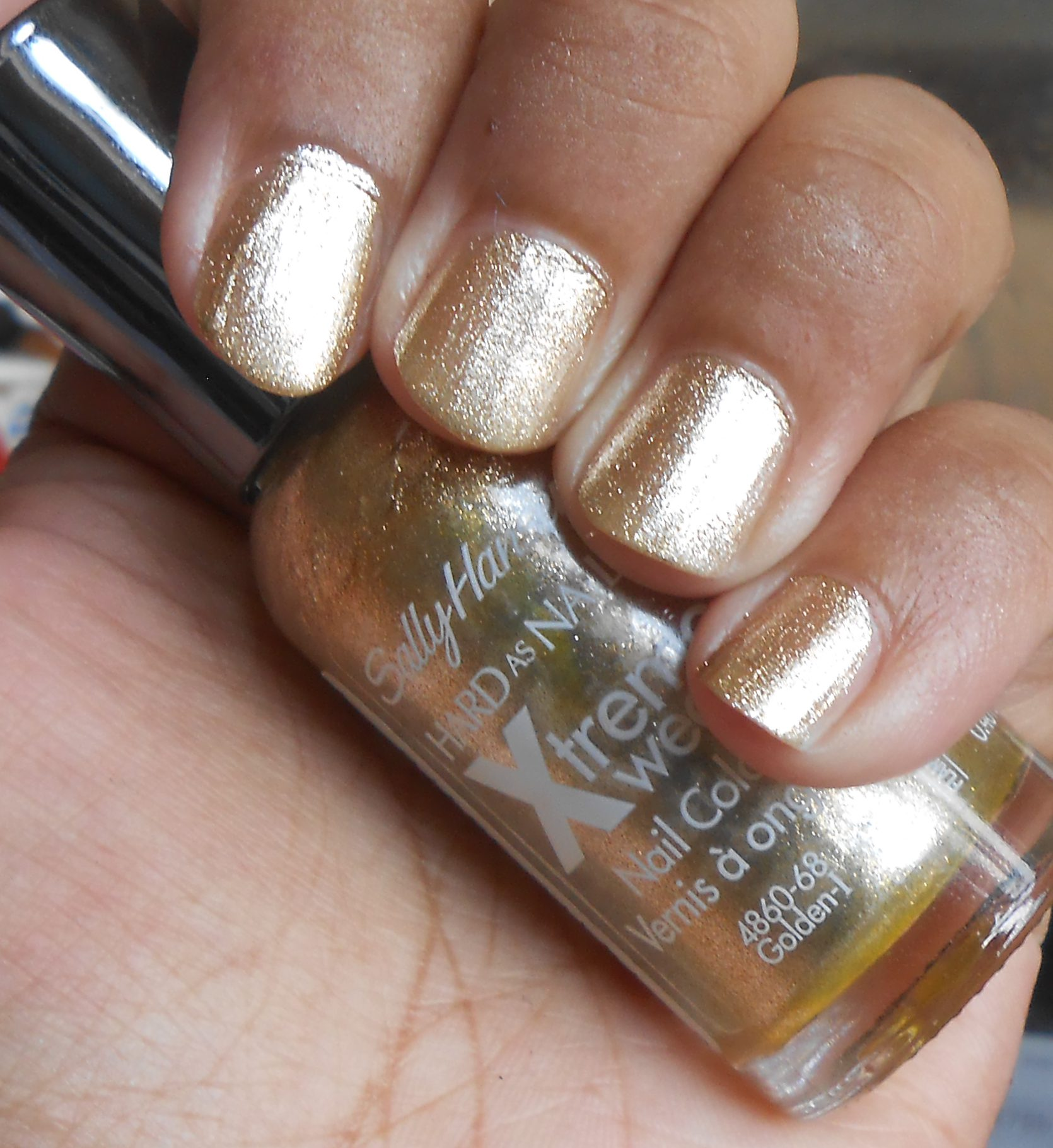 Sally Hansen Hard As Nails Xtreme Wear Nail Color in Golden-I